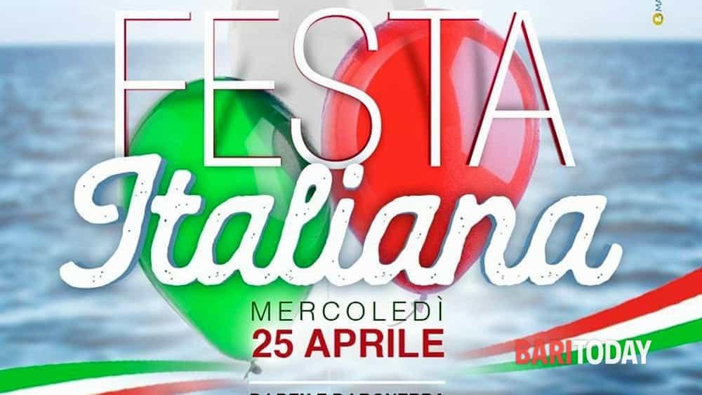 Festa Italiana Dal Mattino A Tarda Sera Lido Losciale