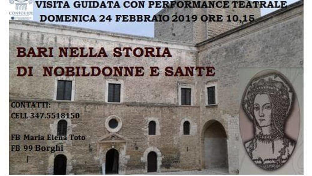 """Visita guidata """"Bari nella storia di nobildonne e sante ..."""