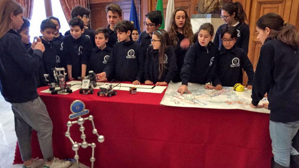 In Fiera la Robocupjr, 1500 studenti si sfidano a colpi di ...