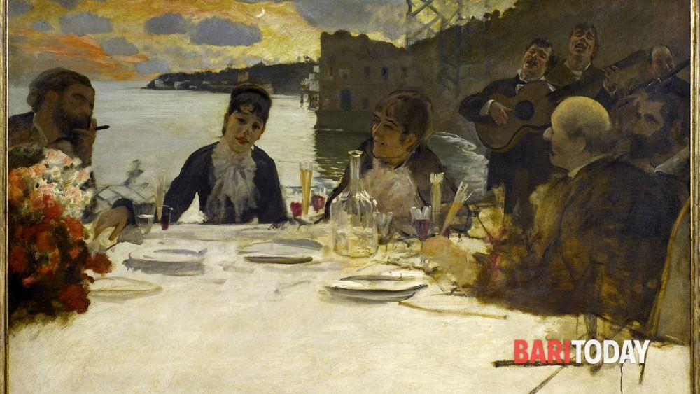 La poesia della tavola mostra di pittura nel foyer del teatro petruzzelli - Puglia in tavola bitetto ...