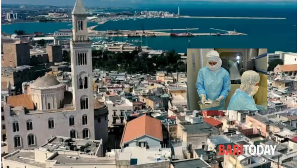 La mappa dei contagi da Covid a Bari: 163 positivi, i ...