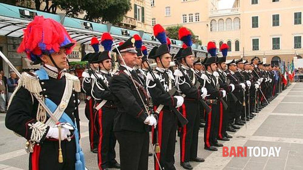 Bari e la Puglia festeggiano i 201 anni dell'Arma dei ...