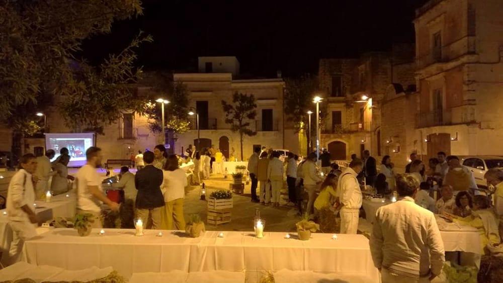 A tavola insieme nel borgo antico a loseto la 39 cena della terra 39 - Puglia in tavola bitetto ...