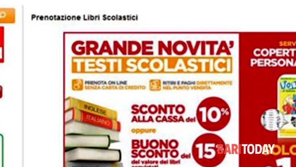 Supermercati dok e famila da oggi si prenotano online for Libri di testo scolastici