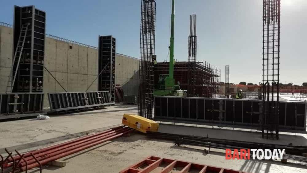 Il cantiere del nuovo ospedale di monopoli fasano va for Nuovo arredo monopoli
